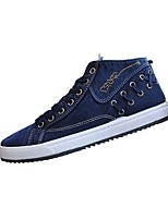 Men's Shoes Libo New Style All Season Casual / Athletic Comfort Canvas Fashion Sneakers Navy / Black / Gray