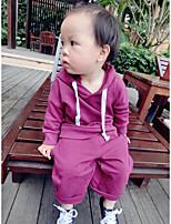 Boy's Sports Solid Suit & BlazerCotton Fall Black / Purple