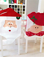 1 Pair Christmas Chair Covers Santa Claus New Year Decorations Xmas Ornaments Home Decor Hats Merry  Sale