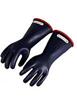 10кВ высокого напряжения электрика изолированные латексные перчатки