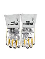 contre la chaleur en aluminium réfléchissant gants de soudage taille 10