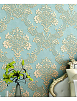 3D Wallpaper For Home Classical Wall Covering  Non-woven fabric Material Adhesive required Wallpaper  Room
