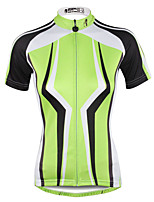 PALADIN® Cycling Jersey Women's Short SleeveBreathable / Quick Dry / Ultraviolet Resistant / Lightweight Materials / Reflective Strips /