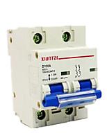 dz47100h-2p100a domésticos de baixa tensão em caixa moldada disjuntor