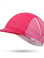 Cycling Cap Hat Bike Windproof Dust Proof Comfortable Sunscreen Women's Pink Terylene