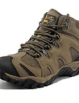 Men's Athletic Shoes Spring Fall Winter Flats Leather Outdoor Flat Heel Others Brown Khaki Hiking