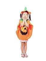 Costumes Déguisements de contes de fées Halloween Orange Imprimé Tissu non tissé Collant/Combinaison
