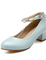 Women's Heels Spring / Summer / Fall / Winter Slingback / Basic Pump / StylesPU / Cowhide / Chiffon / Leather / Cotton /