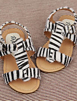 Women's Sandals Summer Sandals / Round Toe PVC Casual Flat Heel Others Animal Print Others