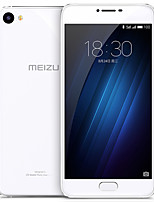 Meizu® U20 5.5 Rear Glass Flyme OS 4G Smartphone (Dual SIM Octa Core 13 MP 2GB 16 GB Silver) Only English