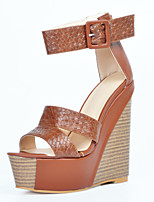 Women's Sandals Summer Wedges / Heels / Peep Toe / Platform / Sandals  Party & Evening / Dress / Casual Wedge Heel