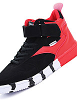 Men's Sneakers Spring / Summer / Fall / Winter Comfort PU Outdoor / Athletic / Casual Black / Red / WhiteWalking /
