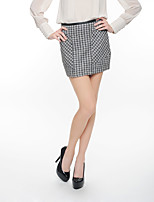 NAKED ZEBRA Women's Mini Skirt-AS2681