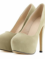 Women's Heels Spring / Fall Heels / Platform / Round Toe Fabric Wedding / Party & Evening / Dress Stiletto Heel
