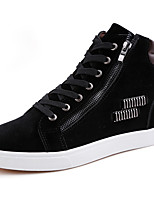 Men's Sneakers Spring / Fall / Winter Comfort Synthetic Athletic / Casual Flat Heel Lace-up Black / Red Sneaker