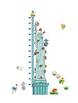 Wall Stickers Wall Decals Style Statue of Liberty Measure Your Height PVC Wall Stickers