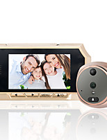 4.3 Inches TFT LCD Screen Digital 4.3'' Peephole door viewer doorbell Security Camera 160 Degree Night Vision Wide Angle