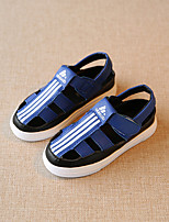 Unisex Sandals Summer Microfibre Casual Flat Heel Others Black Blue White Others