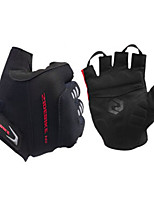 Activity/ Sports Gloves Cycling/Bike Unisex Fingerless Gloves Anti-skidding / Shockproof / Breathable / Stretchy Black