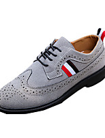 Men's Sneakers Spring / Fall Comfort PU Casual Flat Heel  Black / White / Gray Sneaker