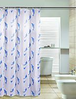 Moderní Polyester 170*200cm ( L x W )  -  Vysoká kvalita Koupelnové závěsy
