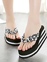 Women's Slippers & Flip-Flops Summer Slingback Velvet Casual Wedge Heel Others Black / Brown Others