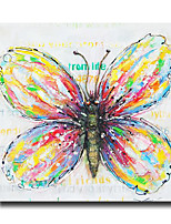 Modern Wall Art Pictures Colorful Butterfly Oil Painting On Canvas Home Decoration Abstract Painting With Frame