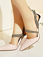 Women's Sandals Summer Sandals / Pointed Toe Nappa Leather Casual Stiletto Heel Others Yellow / Pink Others
