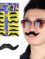 Hot On a Global Scale 12 Pcs / Sets Of Halloween Costume Party A funny Beard Beard