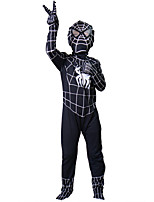 Zentai Suits / Cosplay Costumes Super Heroes / Spider Festival/Holiday Halloween Costumes Black Print / Patchwork Leotard/OnesieHalloween