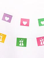 Пластик Свадебные украшения-1шт / комплект Лето Неперсонализированный Цвет отправляется в случайном порядке