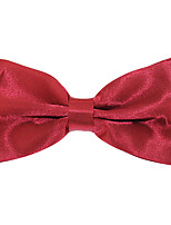 Adjustable Wedding Party Men Jacquard Polyester Silk Bow Tie