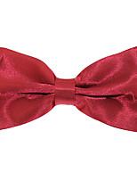 Для мужчин Винтаж / Для вечеринки / Для офиса / На каждый день Бабочка,Полиэстер Жаккард,Красный Все сезоны