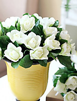 1PC  Household Artificial Flowers Sitting Room Adornment Flowers  Polyester Gardenia Artificial   Flowers