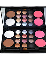 16 Eyeshadow Palette Dry Eyeshadow palette Powder Normal Daily Makeup
