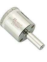furos de vidro aço ferramenta rewin buraco abridor de 2pcs tamanho 28mm / box