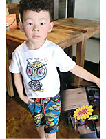 Boy's Clothing SetCotton Summer White