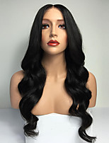 горячий!! 8-30inch непереработанные виргинская бразильская человеческих волос полный парик шнурка тела волны парики человеческих волос для