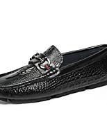 Men's Flats  Comfort / Round Toe / Closed Toe / Flats  Casual Flat Heel Others Black / Blue / Red Walking
