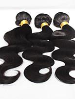 7A Grade Brazilian Virgin Hair Body Wave 3 Bundles Unprocessed Human Hair Weave 100g/Pcs