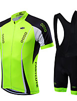 Sports Bike Jersey/Cycling Clothing Bib shorts Sets/Suits Men's / Unisex  Short Sleeve Breathable / Quick Dry