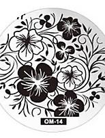 Nail Art Stamping Plate Стампер скреперов 6*6*0.5