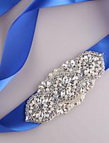 Satin Mariage / Fête/Soirée / Quotidien Ceinture-Billes / Strass / Imitation de perle Femme 250cm Billes / Strass / Imitation de perle