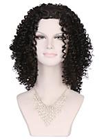 новые Afro Kinky кудрявый синтетические парики черные волосы короткий парик для чернокожих женщин стиль beatuifu вырезать парик