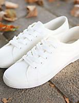 Da donna-Sneakers-Casual-Comoda / Punta arrotondata-Piatto-Di corda-Nero / Bianco / Grigio
