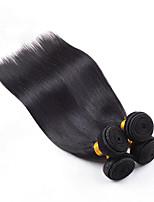 Unprocessed 4Pcs/Lot Indian Virgin Hair Straight 100% Human Hair Weft Indian Hair Weave Bundles Tangle Free