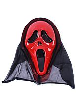 Halloween Props Red Latex Cosplay Accessories Halloween Mask Halloween/Christmas/New Year