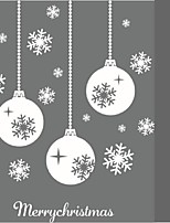 2016 Hot Selling Christmas Snowflake Stick Wall Art Decal Mural Home Room Decor Wall Sticker