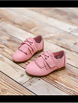 Oxfords Spring / Fall Flats Leather Casual Flat Heel Others Black / Pink / White Others