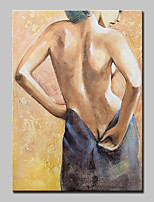 Hand Painted Sexy Nude Girl Oil Painting On Canvas Wall Art For Home Decoration With Stretched Frame Ready To Hang